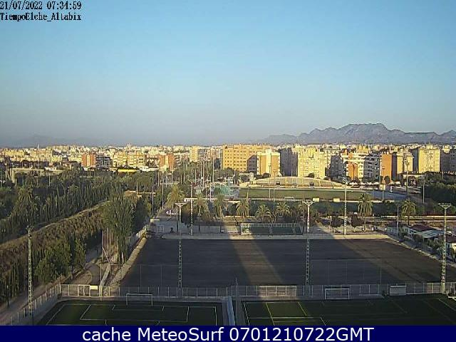 webcam Elche Elx Alicante
