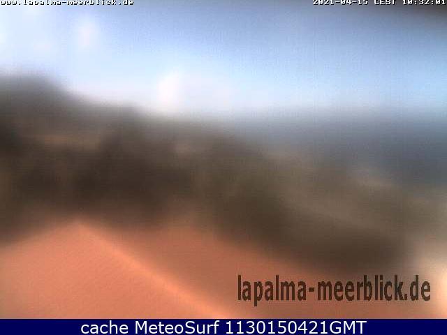 webcam Fuencaliente Santa Cruz de Tenerife