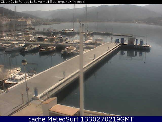webcam Club Náutico El Port de la Selva Gerona