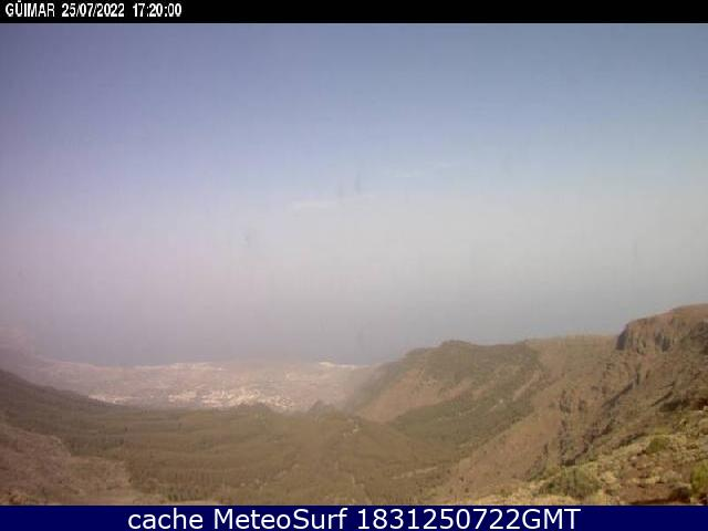 webcam Guimar Santa Cruz de Tenerife