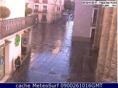 webcam Plaza Catedral Jaca Huesca