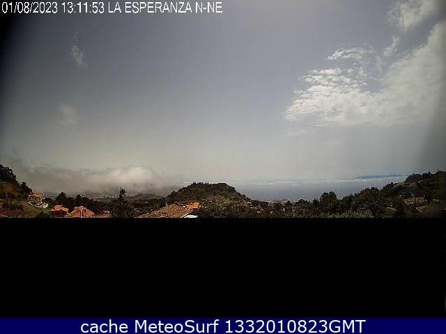 webcam La Esperanza Taco Santa Cruz de Tenerife