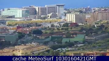 webcam San Cristobal de la Laguna Santa Cruz de Tenerife