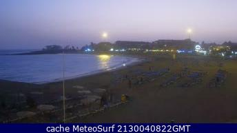 webcam Playa Las Vistas Santa Cruz de Tenerife