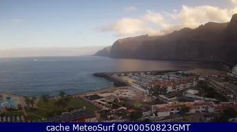 webcam Los Gigantes Puerto Santa Cruz de Tenerife