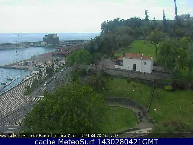 webcam Funchal Cruise Ships 