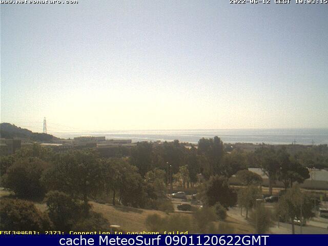 webcam Mataro Maresme Barcelona