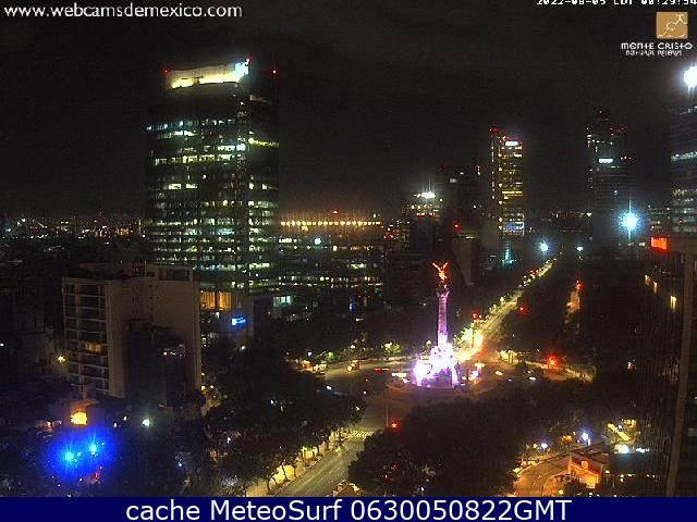 webcam Ángel de la Independencia Cuauhtémoc