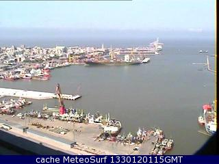 webcam Puerto de Montevideo