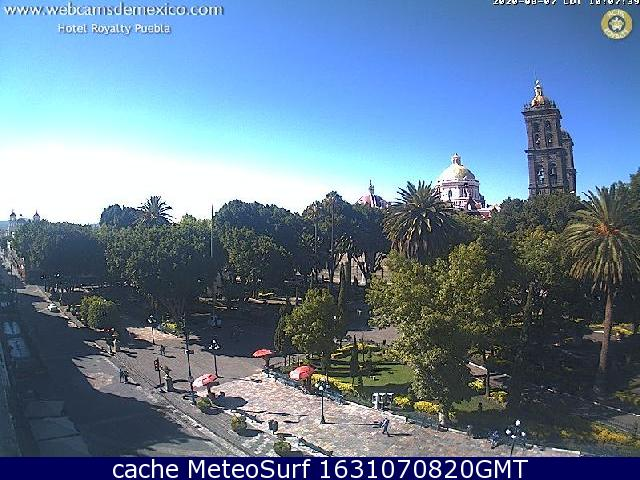 webcam Puebla Puebla