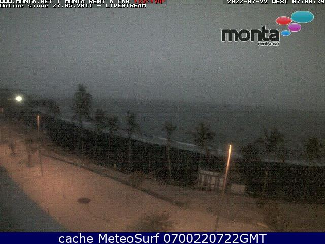 webcam Puerto Naos Paragliding Santa Cruz de Tenerife