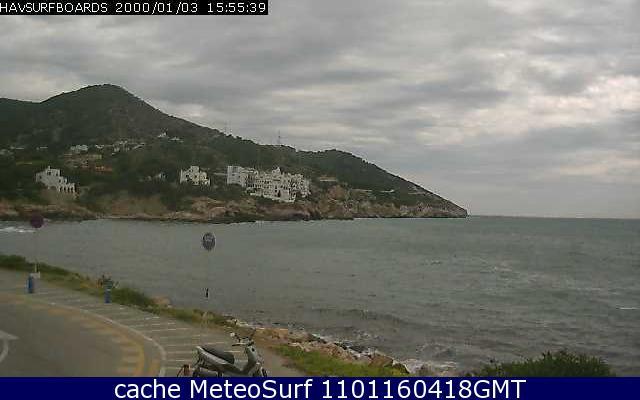 webcam Sitges La Santa Surf Barcelona