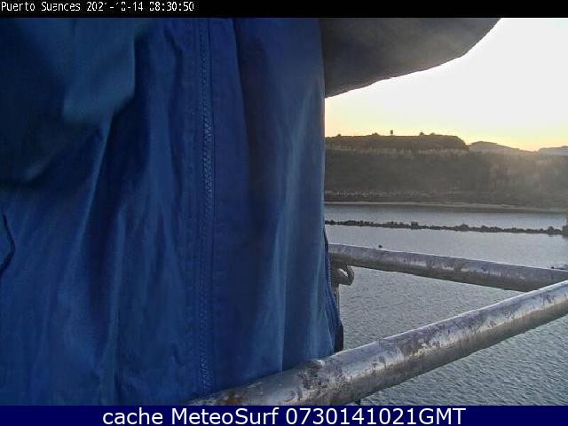 webcam Puerto Suances Cantabria