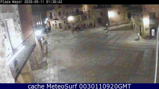 webcam Albarracin Teruel