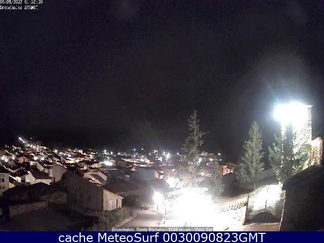 webcam Bronchales Teruel