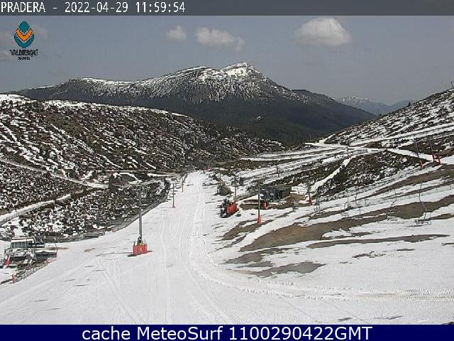 webcam Valdesqui Esqui Guadarrama Madrid