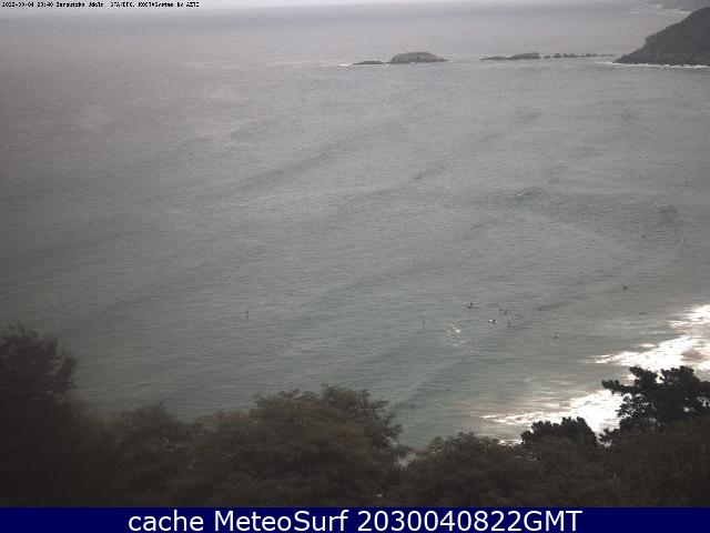 webcam Zarauz Guipúzcoa