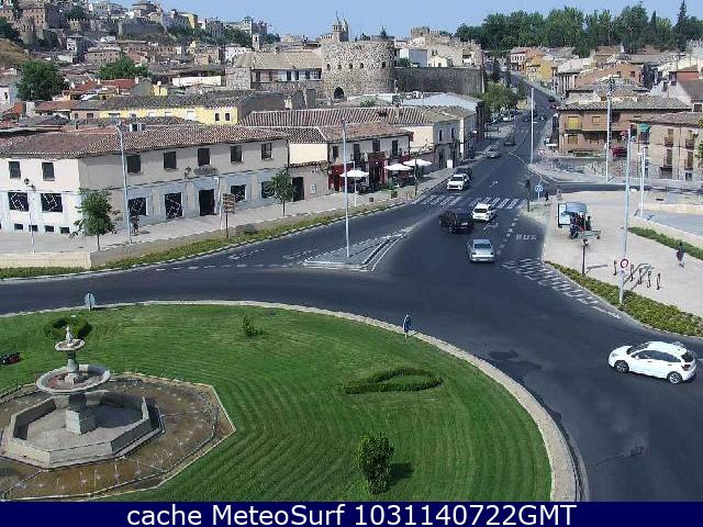 webcam Toledo Puente de Azarquiel Toledo