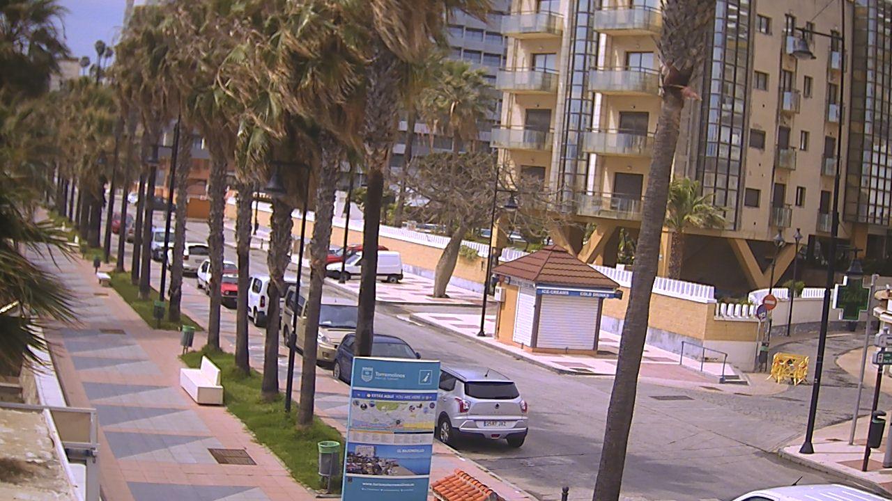 webcam Paseo Torremolinos Malaga
