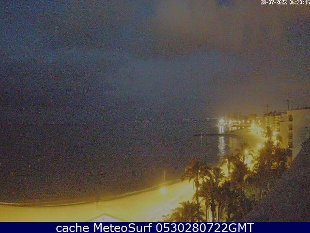 webcam Torrevieja Muelle Alicante