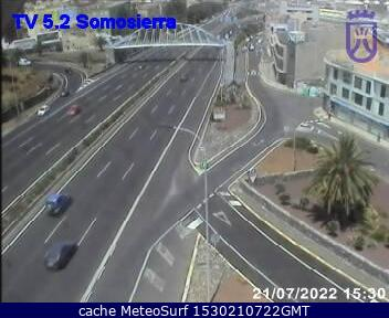 webcam Somosierra Sta Cruz Santa Cruz de Tenerife