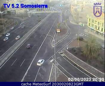 webcam Somosierra Sta Cruz Santa Cruz de Tenerife