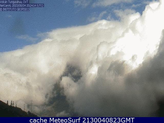 webcam Tungurahua Baños
