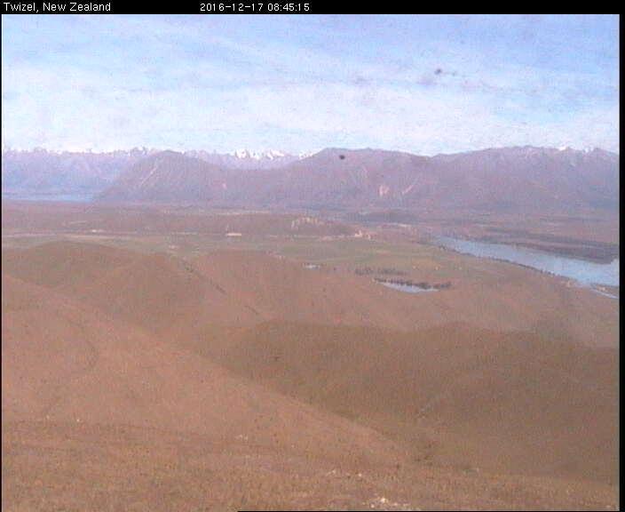 webcam Lake Ruataniwha Mackenzie