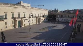 webcam Valletta St George Southern Harbour