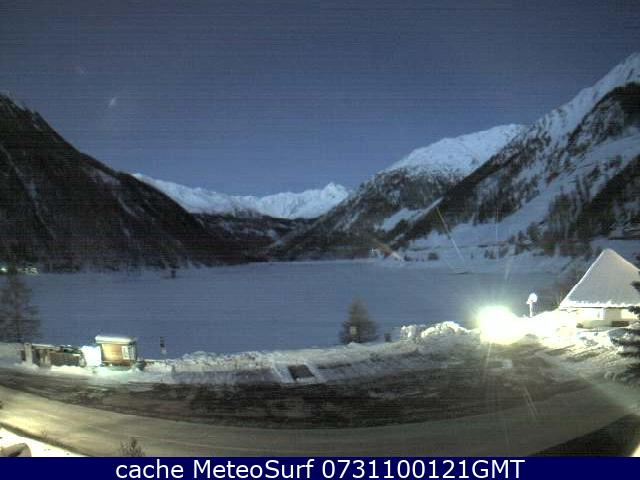 webcam Lago di Vernago Bolzano