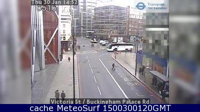 webcam Victoria Street London Londres