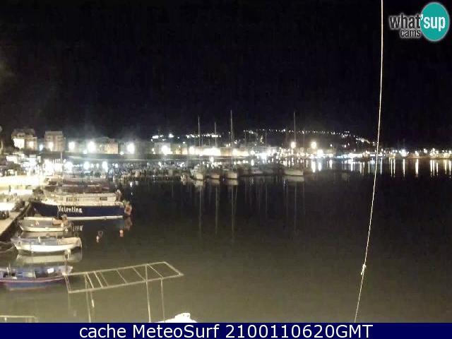 webcam Vieste Porto Foggia
