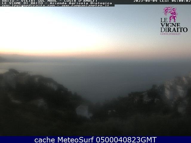 webcam Vietri sul Mare Salerno