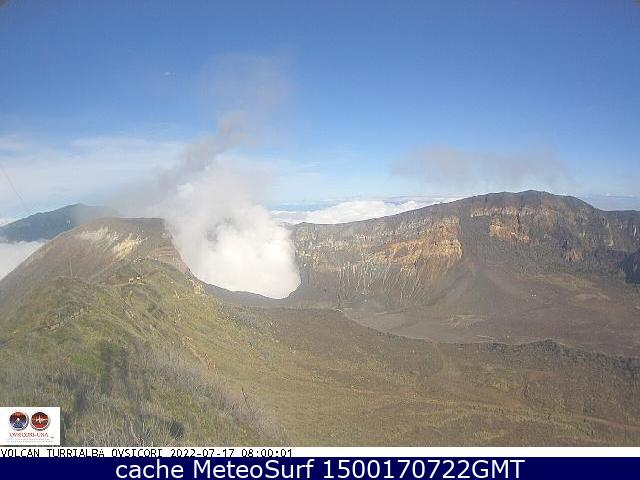webcam Volcán Turrialba Turrialba