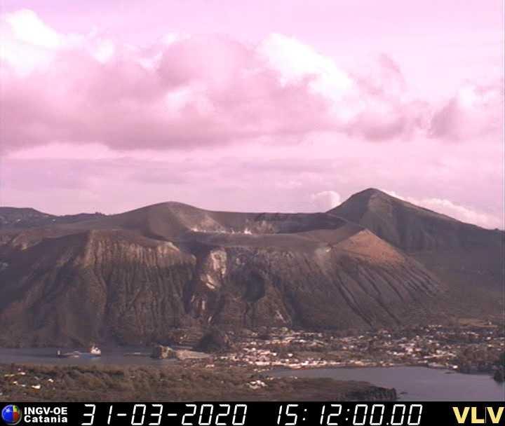 webcam Stromboli Volcano Messina