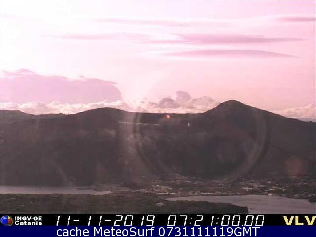 webcam Vulcano Messina