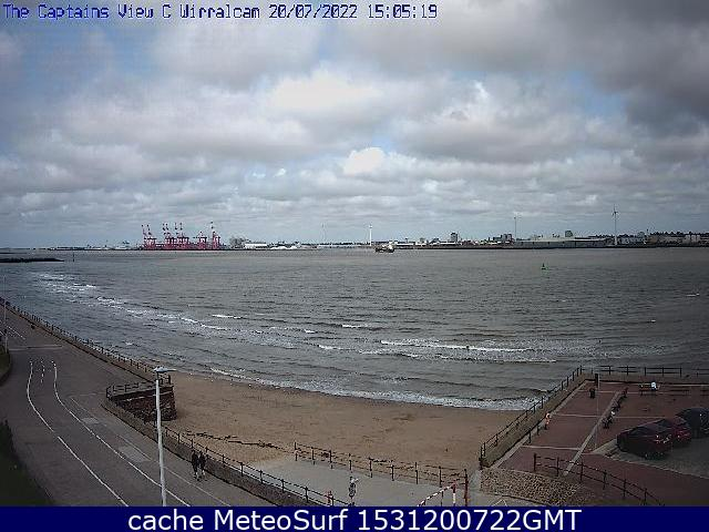 webcam Wallasey  Egremont North West