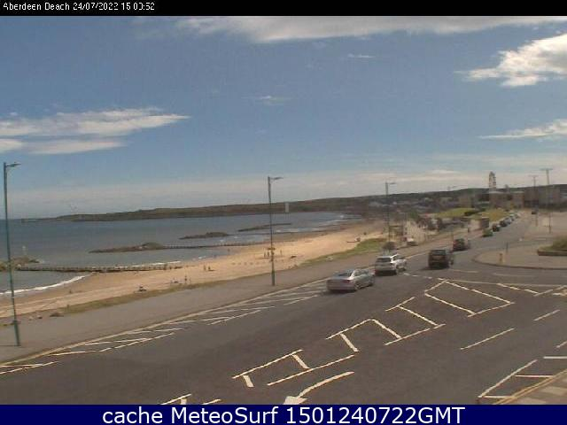 webcam Aberdeen Beach Aberdeenshire