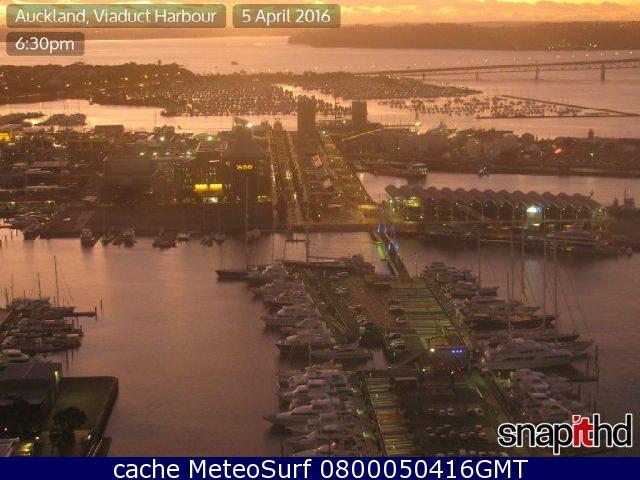 webcam Auckland Harbour Auckland