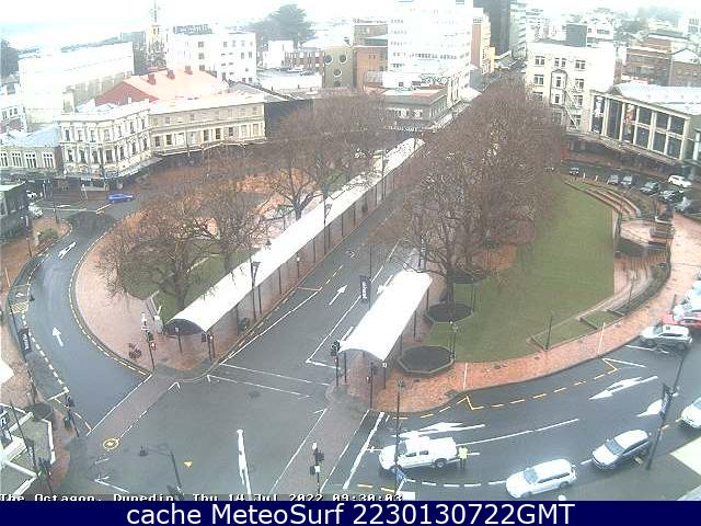 webcam Dunedin Center Dunedin City