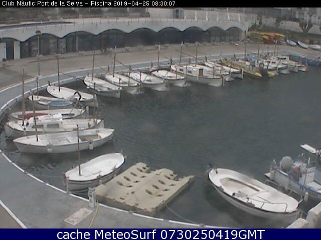webcam El Port de la Selva Alto Ampurdán Gerona