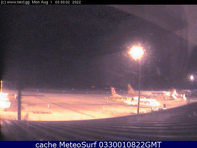webcam Guernsey Airport Channel Islands