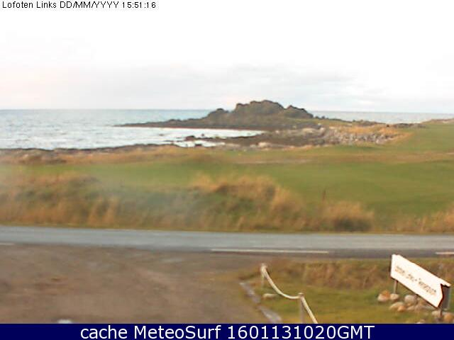 webcam Lofoten Golf Nordland