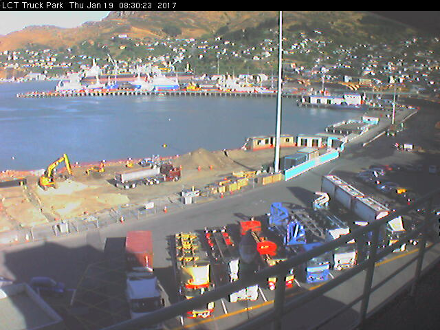 webcam Lyttelton Christchurch