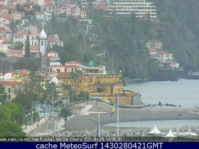 webcam Fortaleza de São Tiago Funchal