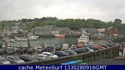 webcam Padstow Harbour South West