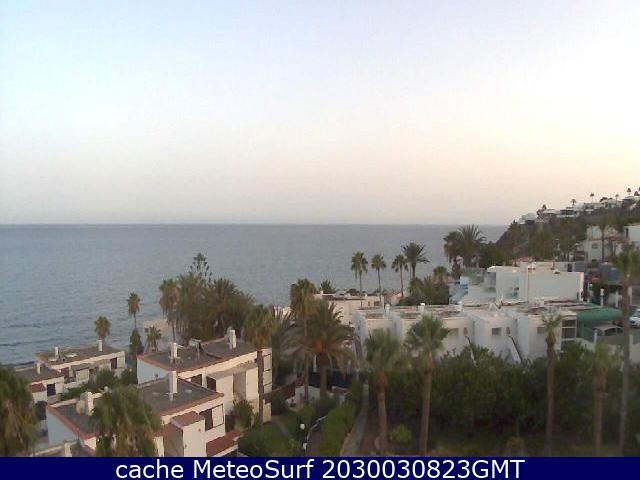 webcam Playa del �guila Las Palmas