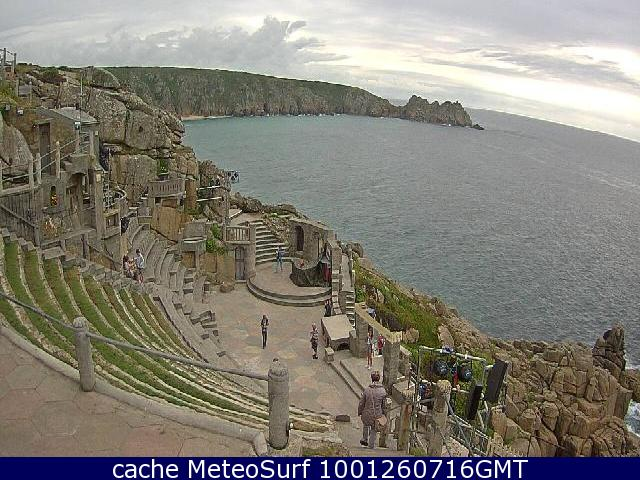 webcam Porthcurno South West