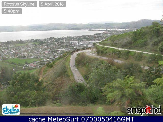 webcam Rotorua Skyline Rotorua