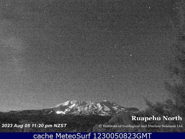 webcam Mt Ruapehu Wanganui
